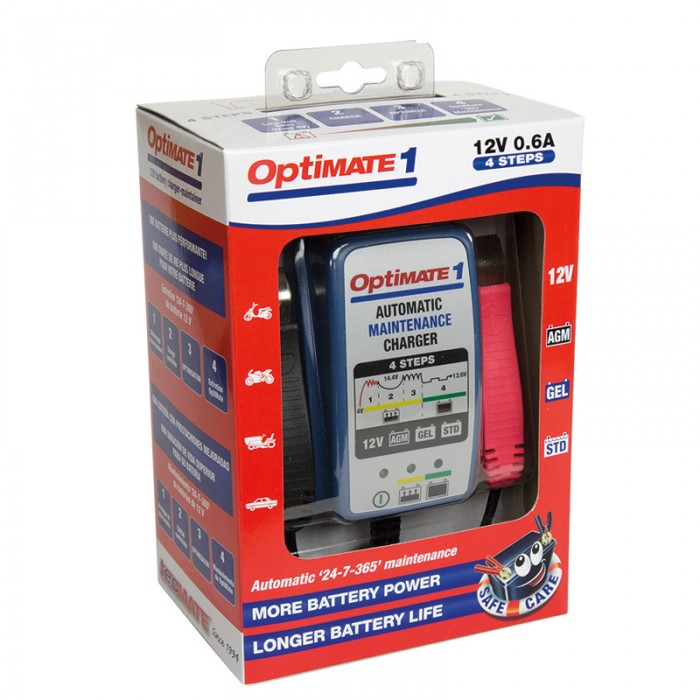 OptiMate 1+ Battery Charger