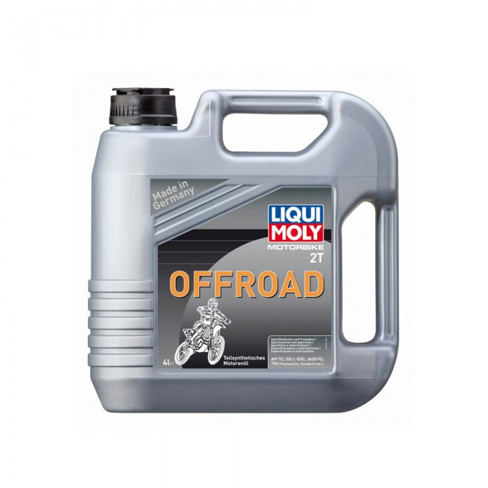 Liqui Moly Oil 2-Stroke Semi Synth - Off Road Race 4 Litre