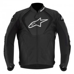 55820019b0a Alpinestars Jaws Leather Jacket Blk   Blk