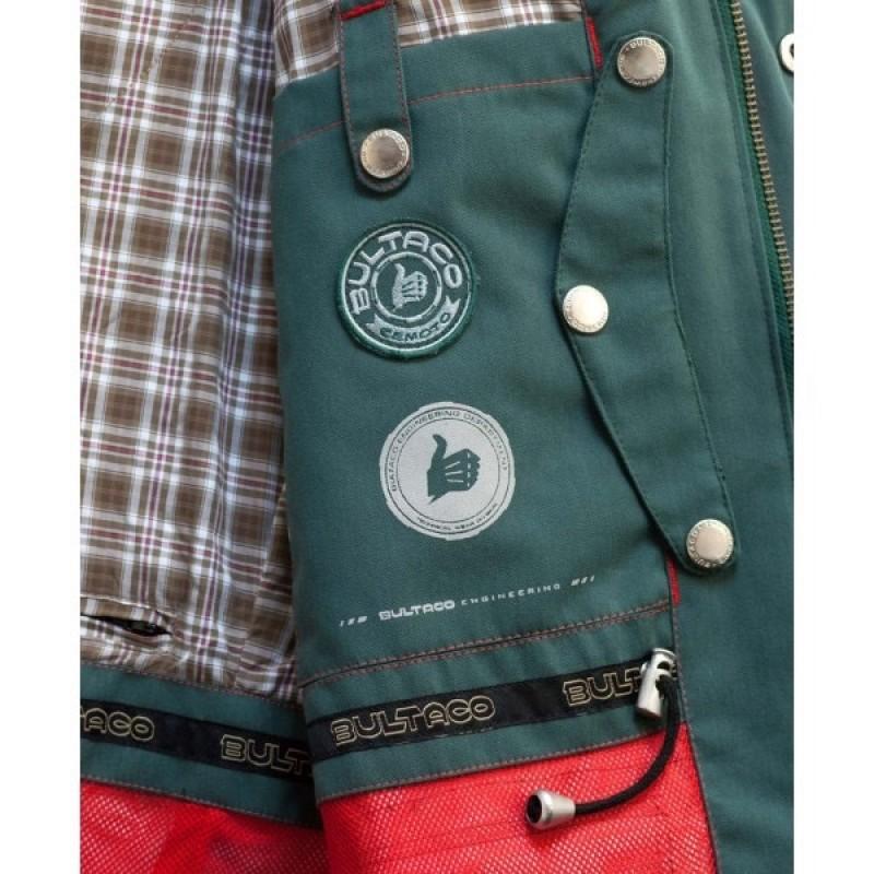 Green Rain Jacket