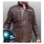 Bultaco Chaqueta Brown Leather Jacket