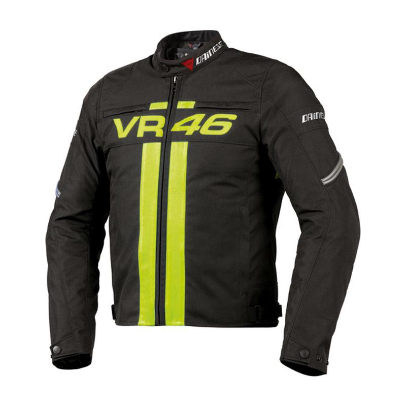 Dainese Vr46 Textile Jacket Blk Yel Bikeworld Ireland