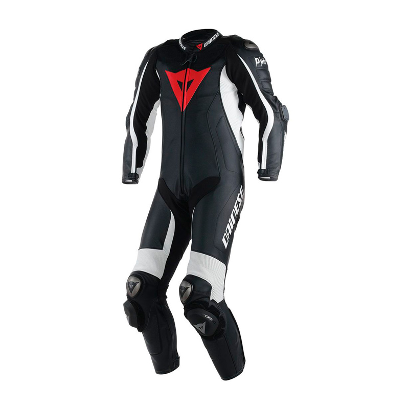 a9a3de13f88 Dainese D Air Misano Perforated Leather Race Suit Blk Wht