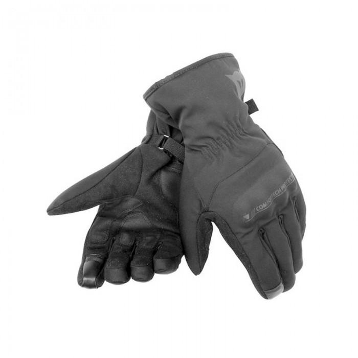 Dainese Alley Unisex D-Dry Gloves Black