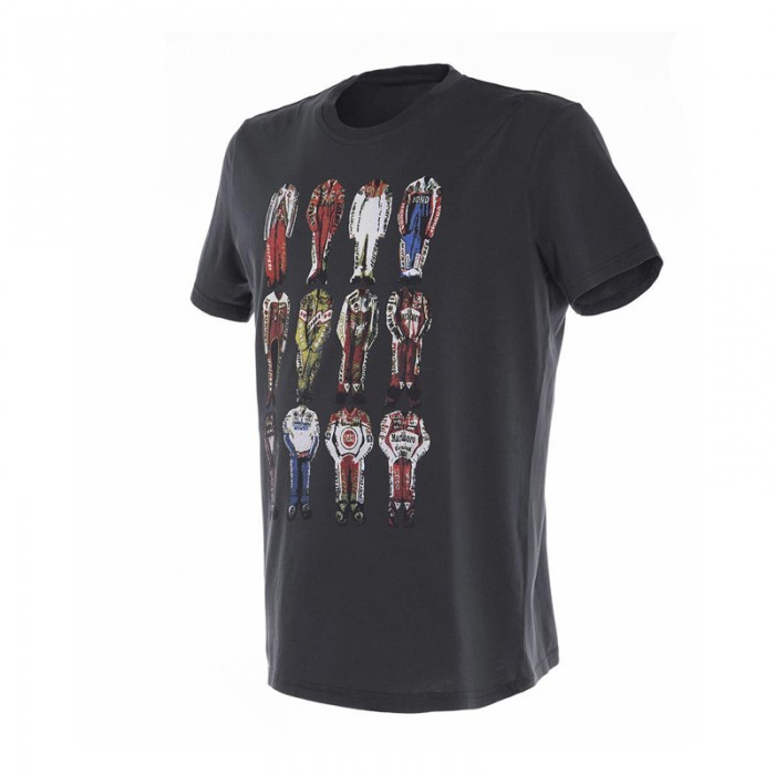 Dainese 12 Champions T-Shirt Anthracite