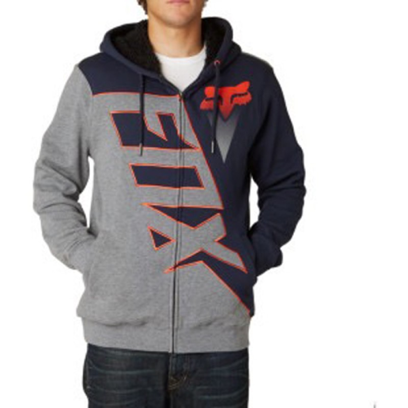 bf3aa616 Fox Racing Diamond Men's Sherpa Zip Up Hoodie (Indigo/Blue) - Bikeworld  Ireland