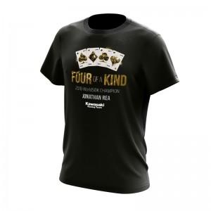 Kawasaki Jonathan Rea 2018 World Champion T-Shirt