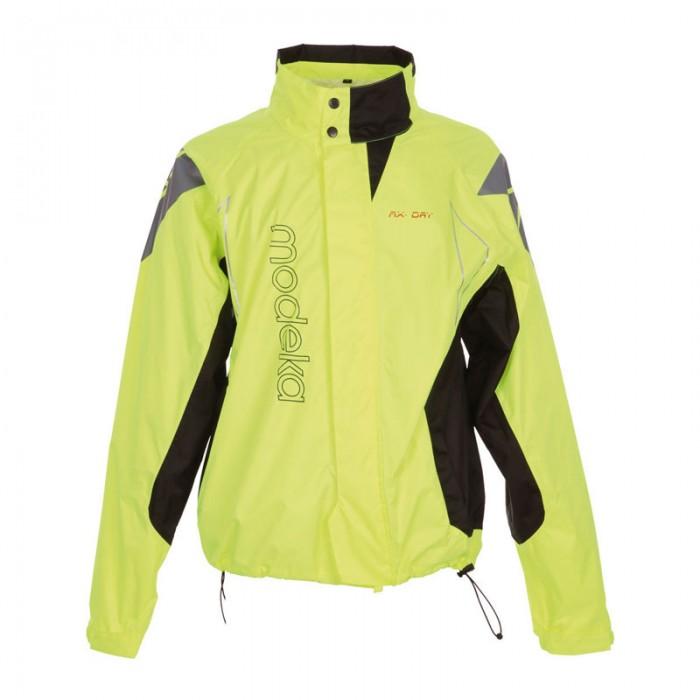 Modeka AX-DRY Waterproof Rain Jacket Fluorescent Yellow
