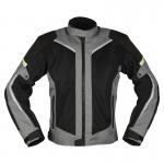 Modeka Mikka Air Motorcycle Textile Jacket Blk/Grey