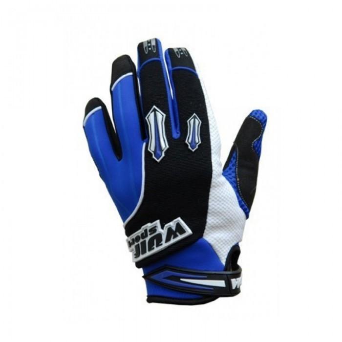 WulfSport Kids Stratos Kids Motocross Gloves Blue