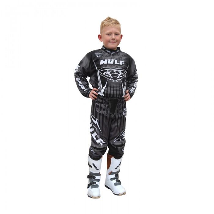 WulfSport Kids Cub Race Shirt Blk