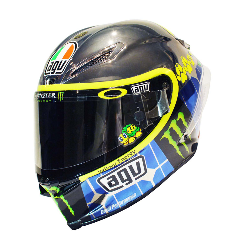 agv chrome rossi mugello corsa limited edition bikeworld. Black Bedroom Furniture Sets. Home Design Ideas
