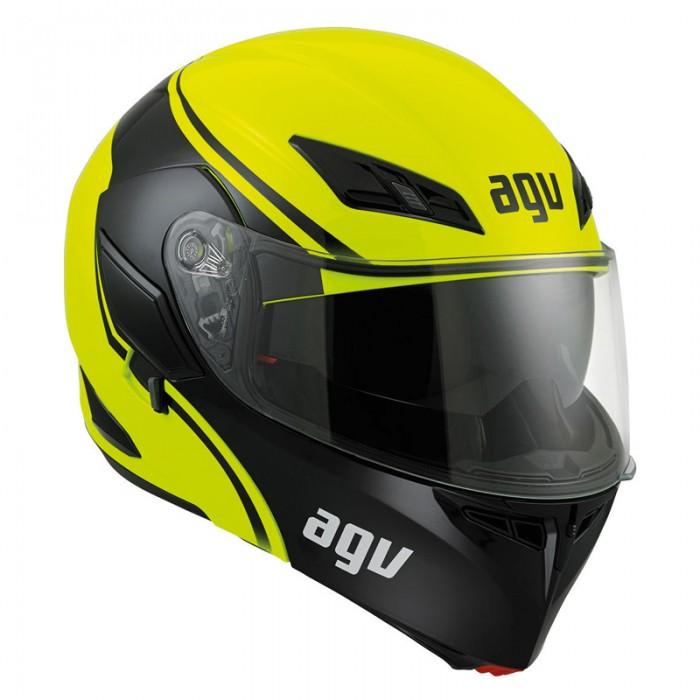 AGV Compact Course Blk/Yel