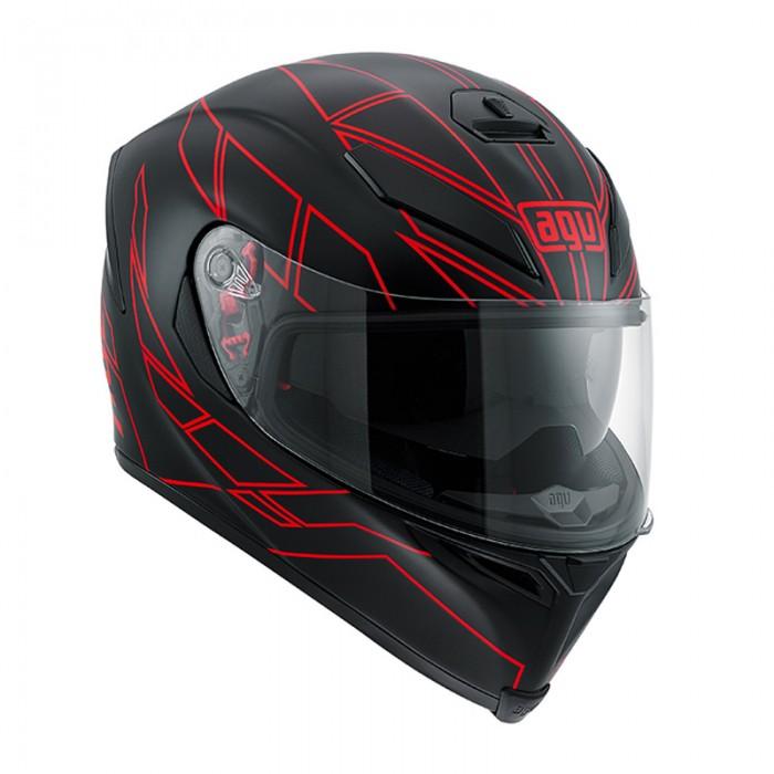 AGV K5 Hero Blk/Red
