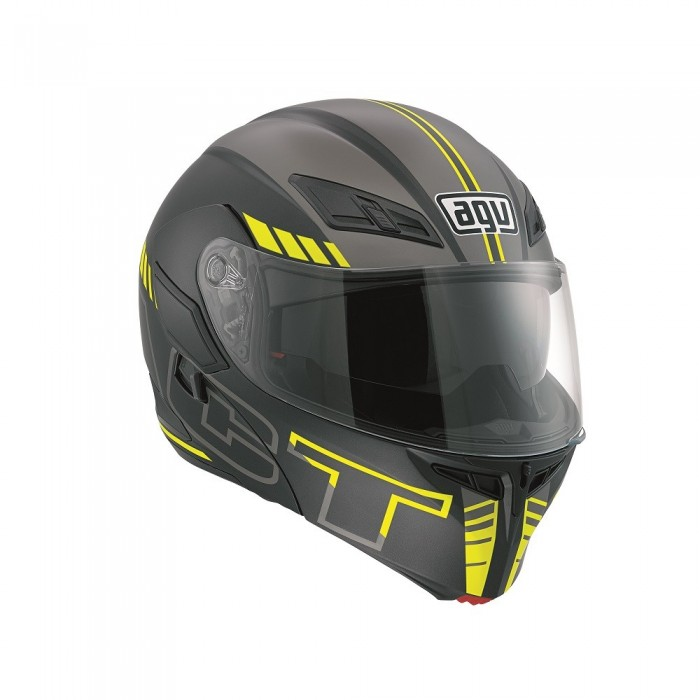 AGV Compact-ST Seattle Blk/Sil/Yel