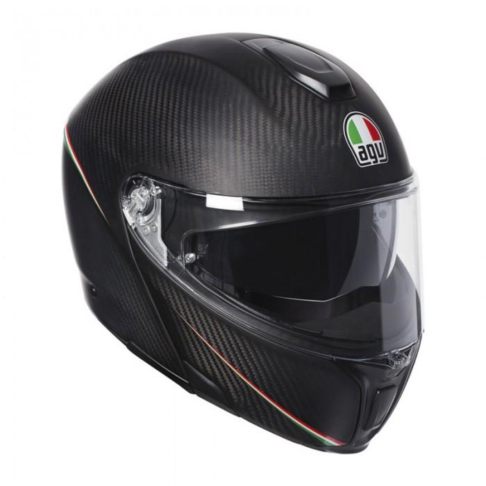 AGV Sportmodular Tricolore Carbon Helmet