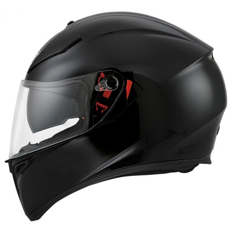 agv k3 sv helmet black bikeworld ireland. Black Bedroom Furniture Sets. Home Design Ideas