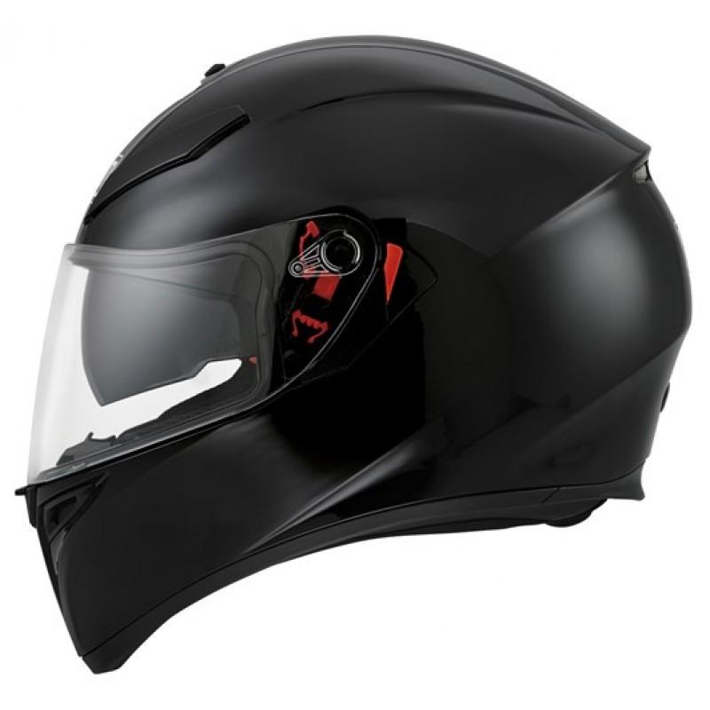 AGV K3-SV Helmet Black - Bikeworld Ireland