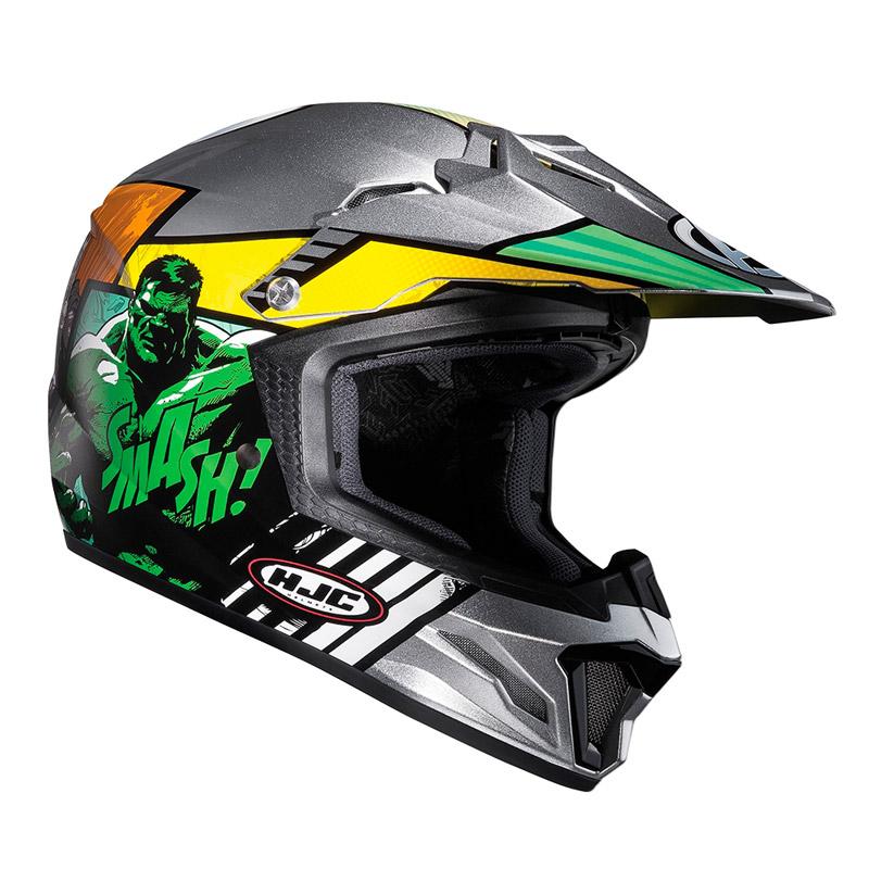 hjc cl xy ii avengers kids 39 s helmet mc21 bikeworld ireland. Black Bedroom Furniture Sets. Home Design Ideas