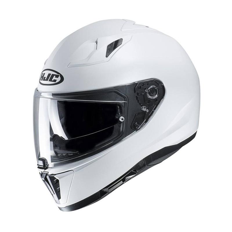 hjc i70 pearl white helmet bikeworld ireland. Black Bedroom Furniture Sets. Home Design Ideas