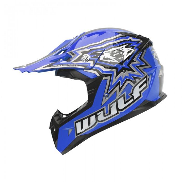 WulfSports Cub Flite-Xtra Motocross Kid's Helmet